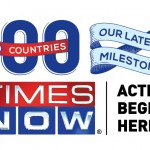 Times Now marks its presence in 100 countries
