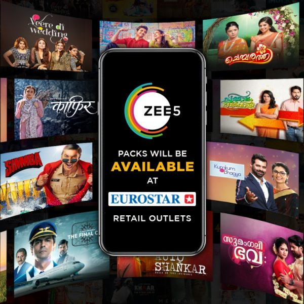 ZEE5 Global & EUROSTAR Group partners in Middle East for