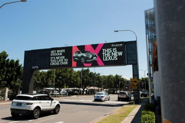 Lexus Targeted OOH Australia