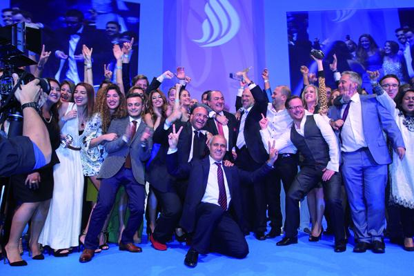 Team Memac Ogilvy at Dubai Lynx Awards 2014