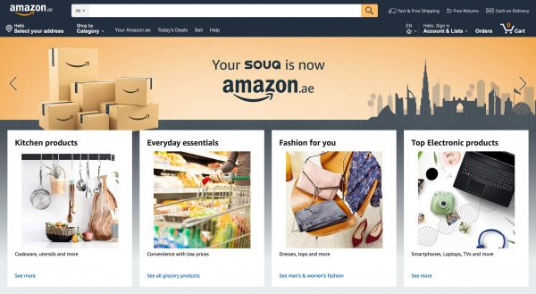 SOUQ BECOMES AMAZON AE IN THE UAE – Campaign Middle East